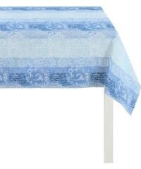Tischdecke 3042 Zeitlos elegantes Jacquard APELT blau 2 (130x130 cm),3 (150x250 cm)