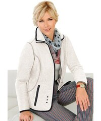 COLLECTION L. Collection L. Fleece-Jacke braun 36,38,40,42,44,46,48,50,52,54