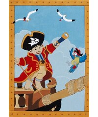 Teppich Capt n Sharky H-2366-01 handgetuftet Konturenschnitt Brilliante Farben Capt'n Sharky blau 3 (B/L: 130x190 cm),4 (B/L: 150x220 cm)