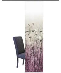 Schiebegardine Shelton (1 Stück mit Zubehör) HOME WOHNIDEEN lila H/B: 245/60 cm