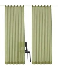 MY HOME Gardine Arvida (2 Stück) grün 3 (H/B: 225/140 cm),4 (H/B: 245/140 cm),5 (H/B: 265/140 cm),6 (H/B: 295/140 cm)