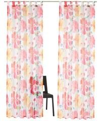 MY HOME Gardine Silandro (2 Stück) rosa 1 (H/B: 145/145 cm),2 (H/B: 175/145 cm),3 (H/B: 225/145 cm),4 (H/B: 245/145 cm),5 (H/B: 295/145 cm)