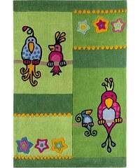 Kinder-Teppich Kakadu Andiamo grün 3 (B/L: 100x160 cm)