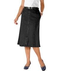 Damen Jeans-Rock Baur schwarz 19,20,21,22,23,24,25