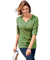 Damen Classic Basics Shirt mit paspeliertem Ausschnitt CLASSIC BASICS grün 38,40,42,44,46,48,50,52,54,56