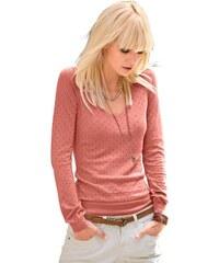 Damen Classic Inspirationen Pullover in weichem und wunderbar geschmeidigem Feinstrick CLASSIC INSPIRATIONEN orange 36,38,40,42,44,46,48,50,52,54