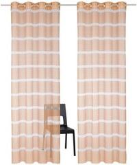 MY HOME Gardine Simla (2 Stück) orange 1 (H/B: 145/140 cm),2 (H/B: 175/140 cm),3 (H/B: 225/140 cm),4 (H/B: 245/140 cm),5 (H/B: 265/140 cm),6 (H/B: 295/140 cm)
