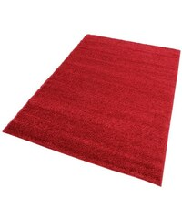 Hochflor-Teppich Bodrum Höhe 30 mm gewebt MY HOME rot 8 (B/L: 280x390 cm)