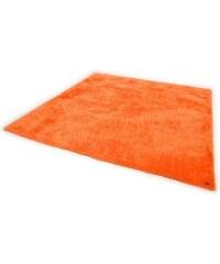 Tom Tailor Hochflor-Teppich Soft Höhe 30 mm handgearbeitet orange 1 (B/L: 50x80 cm),2 (B/L: 65x135 cm),3 (B/L: 140x200 cm),4 (B/L: 160x230 cm),5 (B/L: 190x190 cm)