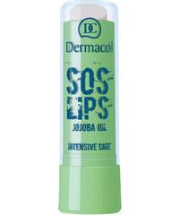 Dermacol Love Lips SOS Extra Protect 3,5ml Péče o rty W - Odstín Chocolate