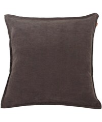 Kissen Raffi Velvet gefüllt (1er Pack) RAFFI braun 50x50 cm