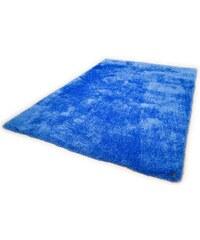 Hochflor-Läufer Soft Höhe 30 mm handgearbeitet Tom Tailor blau 11 (B/L: 85x155 cm)
