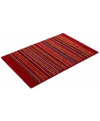 Badematte Cool Stripes Höhe ca. 10mm rutschhemmender Rücken Esprit rot 1 (55x65 cm),3 (60x100 cm),4 (70x120 cm)