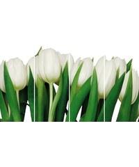 HOME AFFAIRE Bild Kunstdruck Weiße Tulpen (4-tlg.) weiß