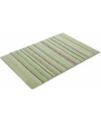 Esprit Badematte Cool Stripes Höhe ca. 10mm rutschhemmender Rücken grün 1 (55x65 cm),3 (60x100 cm),4 (70x120 cm)