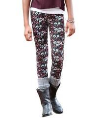 Leggings mit Blumen-Muster für Mädchen Arizona bunt 140/146,152/158,164/170,176/182