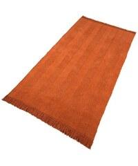 Teppich Collection handgewebt Aoko HOME AFFAIRE COLLECTION orange 2 (B/L: 70x140 cm),3 (B/L: 120x180 cm),4 (B/L: 160x240 cm),5 (B/L: 90x160 cm),6 (B/L: 190x290 cm)