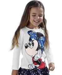 Disney Langarmshirt mit Minnie Mouse Motiv für Mädchen Disney weiß 104/110,116/122,128/134,140/146,92/98