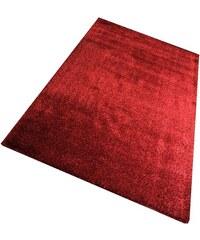 LIVING LINE Hochflor-Teppich Living Line Loredo Höhe 30 mm rot 8 (B/L: 300x400 cm)