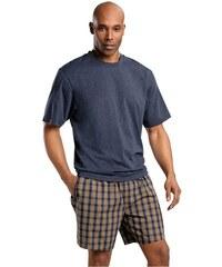 Le Jogger Shorty Pyjama kurz blau 44/46,48/50,52/54,60/62