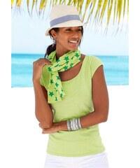 Beachtime Damen Shirt mit Schal (2-tlg.) gelb 32/34,36/38,40/42,44/46