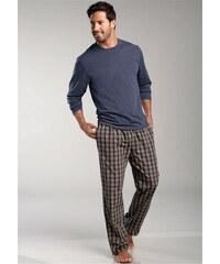 Le Jogger Pyjama lang blau 44/46,48/50,52/54,56/58,60/62