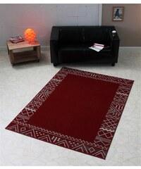 Design-Teppich Aztec modern trend graphisch gemustert HANSE HOME rot 4 (B/L: 160x230 cm)