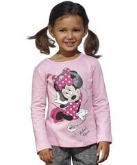 Disney Disney Langarmshirt mit Minnie Mouse Druck für Mädchen rosa 116/122,128/134,140/146