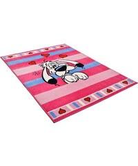 Kinder-Teppich Asterix Der träumende Idefix ASTERIX rosa 2 (B/L: 80x150 cm),3 (B/L: 133x180 cm)