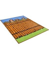 ASTERIX Kinder-Teppich Asterix Die Mauer der Gallier braun 2 (B/L: 80x150 cm),3 (B/L: 133x180 cm)