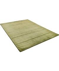 Teppich Harmony Melbourne 1000 handgearbeitet THEKO grün 2 (B/L: 67x135 cm),3 (B/L: 140x200 cm),4 (B/L: 165x230 cm)