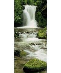 KOMAR Türposter Ellowa Falls grün
