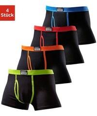 Authentic Underwear Boxer (4 Stück) aus Baumwolle Cotton made in Africa Authentic Underwear Le Jogger schwarz 3,4,5,6,7,8,9