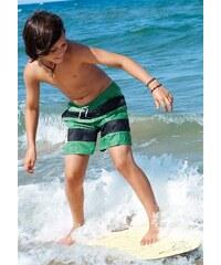S.OLIVER RED LABEL Badeshorts RED LABEL Beachwear grün 110/116,122/128,134/140,146/152,158/164,170/176