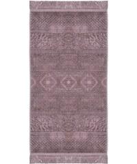 Badetuch Pad Harlem mit floralen Elementen PAD lila 1xBadetuch 70x140 cm