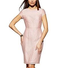APART Fashion Damen Etui Kleid 34976, Knielang