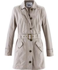 bpc bonprix collection Trenchcoat langarm in grau für Damen von bonprix