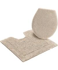 Badematte, Stand WC-Set, Home Affaire Collection, »Kapra«, beidseitig verwendbar, Bio Baumwolle