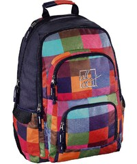 All Out Rucksack Louth, Sunshine Check »Außenmaße 31 x 45 x 13 cm«