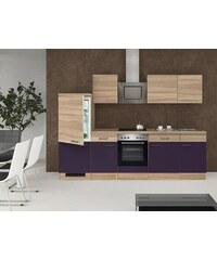 Küchenzeile mit E-Geräten »Rio«, Breite 280 cm, inkl. 2. Frontensatz gratis dazu