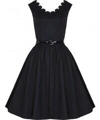 Retro šaty Lindy Bop Daria Black