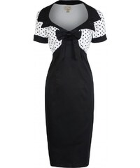 Retro šaty Lindy Bop Laney Black 38