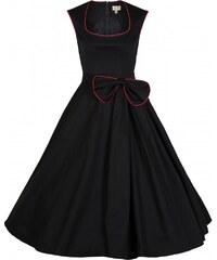 Retro šaty Lindy Bop Grace Black 38