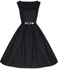 Retro šaty Lindy Bop Audrey Black 52