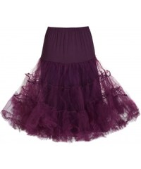 Spodnička k šatům Lindy Bop Plum -