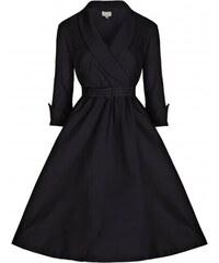 Retro šaty Lindy Bop Vivi Black