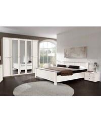 wimex Schlafzimmer-Set (4-tlg.) weiß