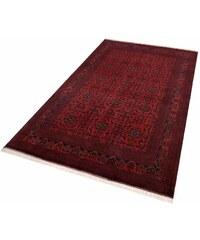 Orient-Teppich Parwis Afghan Khal Mohammadi Handgeknüpft 140.000 Knoten/m² Unikat PARWIS rot 2 (B/L: 80x120 cm),3 (B/L: 100x150 cm),4 (B/L: 130x200 cm),6 (B/L: 200x300 cm)
