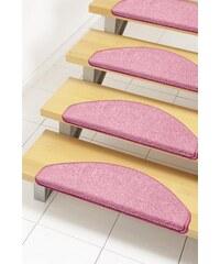 HANSE HOME Stufenmatte Shashi einfarbig Kurzflor getuftet rosa 21 (2er-Set),22 (15er-Set)