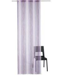 Fadenvorhang -Gardinen Rebecca (1 Stück) Weckbrodt-Gardinen lila 1 (H/B: 160/98 cm),2 (H/B: 160/148 cm),3 (H/B: 245/98 cm),4 (H/B: 245/148 cm)